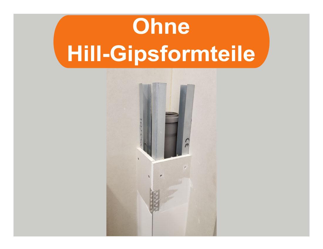 Hill-Gipsformteile